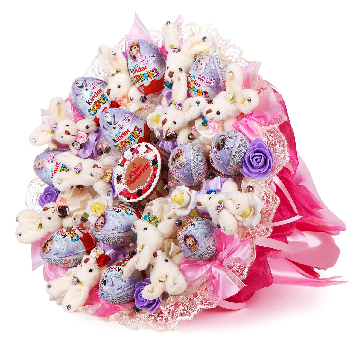 Бизнес по изготовлению букетов из игрушек и конфет
